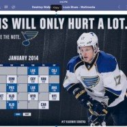 St Louis Blues January 2014 Schedule