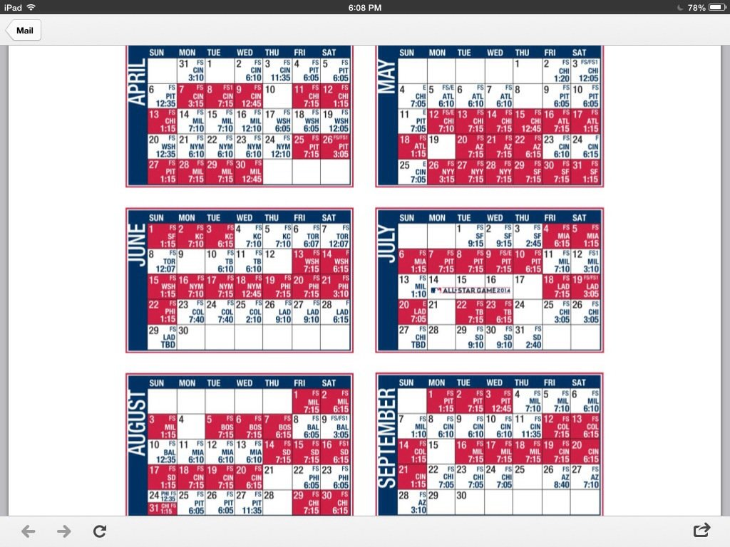 "... St Louis Cardinals Baseball Schedule Printable"" – Calendar 2015"