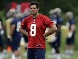 Rams Quarterback Sam Bradford following Day One of Training Camp