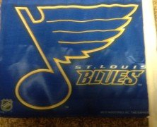 Blues split weekend series