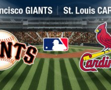 Cardinals/Giants – 3 game series starts tonight